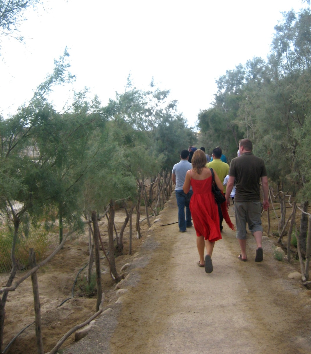 Path at Baptism Site